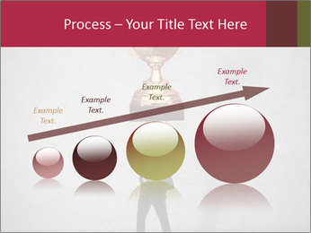 Triumphing businessman PowerPoint Template - Slide 87