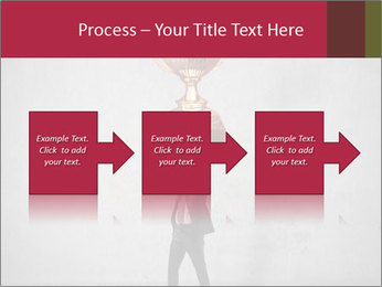 Triumphing businessman PowerPoint Template - Slide 88