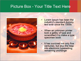 Indian oil lamp PowerPoint Template - Slide 13