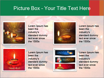 Indian oil lamp PowerPoint Template - Slide 14