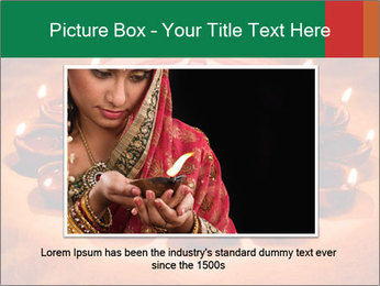 Indian oil lamp PowerPoint Template - Slide 15