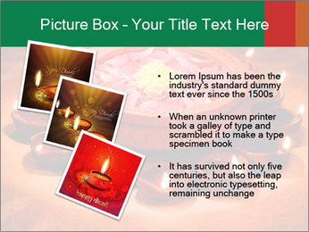 Indian oil lamp PowerPoint Template - Slide 17