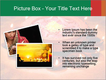 Indian oil lamp PowerPoint Template - Slide 20