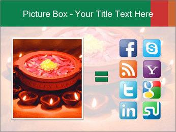 Indian oil lamp PowerPoint Templates - Slide 21