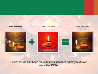 Indian oil lamp PowerPoint Template - Slide 22