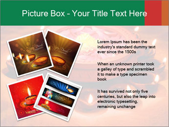 Indian oil lamp PowerPoint Template - Slide 23
