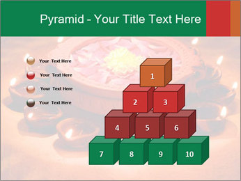 Indian oil lamp PowerPoint Template - Slide 31