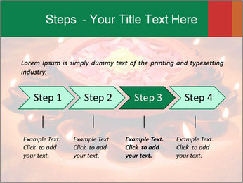 Indian oil lamp PowerPoint Template - Slide 4