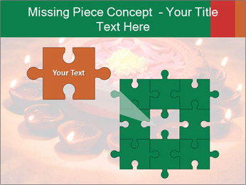 Indian oil lamp PowerPoint Template - Slide 45