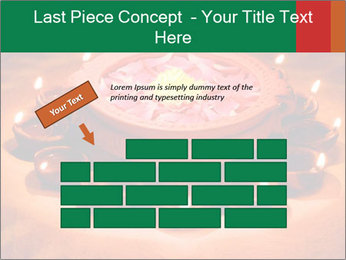 Indian oil lamp PowerPoint Template - Slide 46