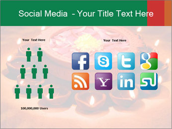 Indian oil lamp PowerPoint Template - Slide 5