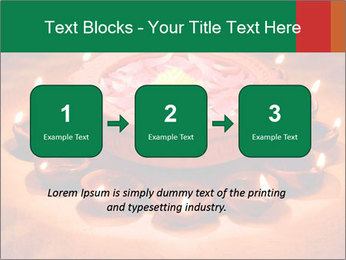 Indian oil lamp PowerPoint Template - Slide 71