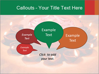 Indian oil lamp PowerPoint Templates - Slide 73