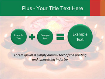 Indian oil lamp PowerPoint Template - Slide 75