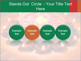 Indian oil lamp PowerPoint Templates - Slide 76