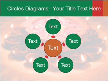 Indian oil lamp PowerPoint Templates - Slide 78