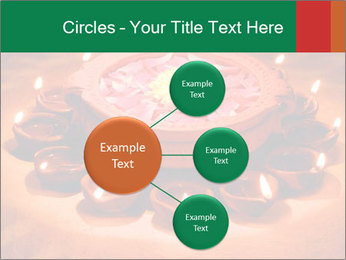 Indian oil lamp PowerPoint Template - Slide 79