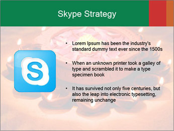 Indian oil lamp PowerPoint Template - Slide 8