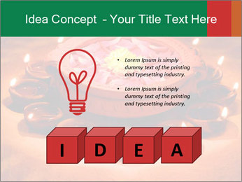 Indian oil lamp PowerPoint Template - Slide 80