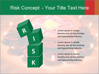 Indian oil lamp PowerPoint Template - Slide 81