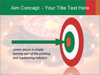 Indian oil lamp PowerPoint Template - Slide 83