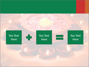 Indian oil lamp PowerPoint Templates - Slide 95