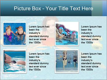 Woman trains PowerPoint Templates - Slide 14