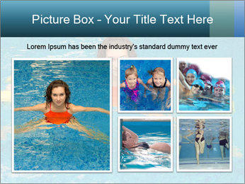 Woman trains PowerPoint Templates - Slide 19