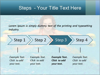 Woman trains PowerPoint Templates - Slide 4