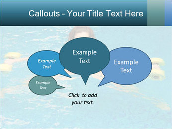 Woman trains PowerPoint Templates - Slide 73