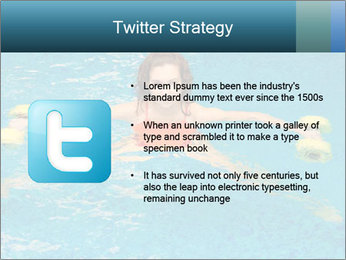 Woman trains PowerPoint Templates - Slide 9