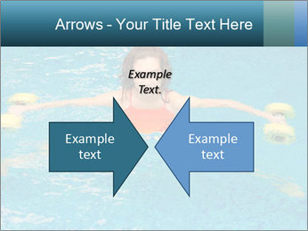 Woman trains PowerPoint Templates - Slide 90