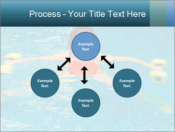 Woman trains PowerPoint Templates - Slide 91