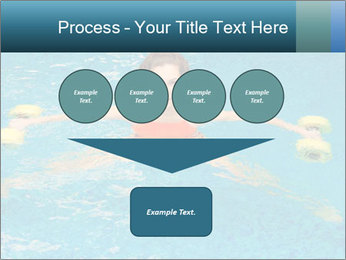 Woman trains PowerPoint Templates - Slide 93