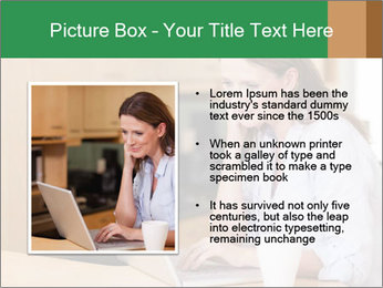 Smiling woman PowerPoint Templates - Slide 13