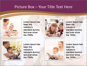 Mother and son PowerPoint Template - Slide 14