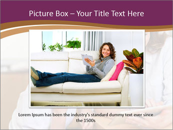 Mother and son PowerPoint Template - Slide 15
