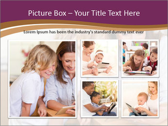Mother and son PowerPoint Template - Slide 19