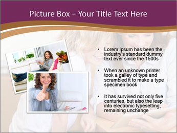 Mother and son PowerPoint Template - Slide 20