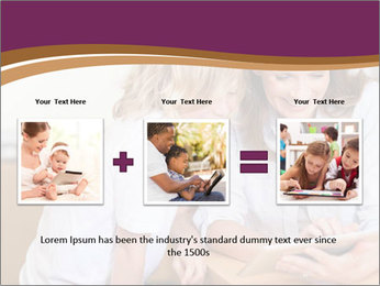 Mother and son PowerPoint Template - Slide 22