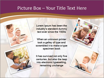 Mother and son PowerPoint Template - Slide 24
