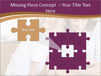 Mother and son PowerPoint Template - Slide 45