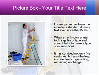 Man painting wall PowerPoint Templates - Slide 13