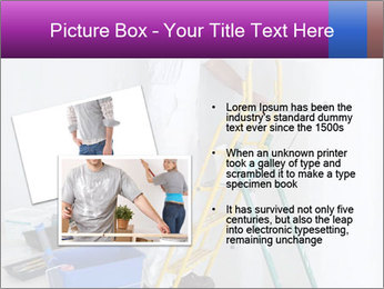 Man painting wall PowerPoint Templates - Slide 20