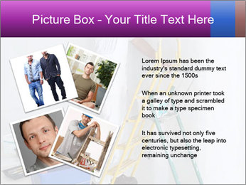 Man painting wall PowerPoint Templates - Slide 23