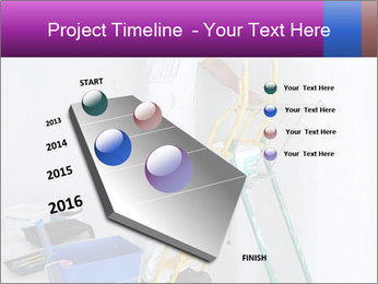 Man painting wall PowerPoint Templates - Slide 26
