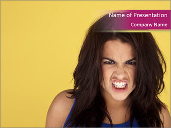 Headshot PowerPoint Templates - Slide 1