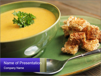 Vegetables soup PowerPoint Templates - Slide 1