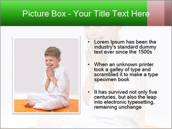 Children's yoga PowerPoint Templates - Slide 13
