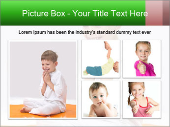 Children's yoga PowerPoint Templates - Slide 19